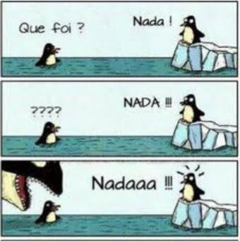 Pinguim Nada
