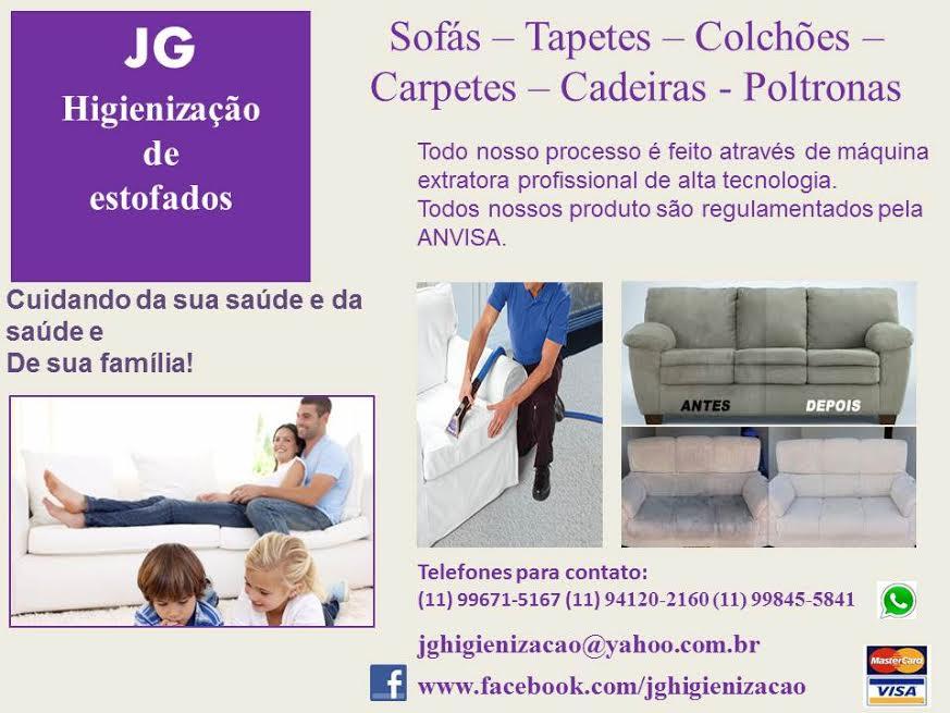 JG Higienização de estofados