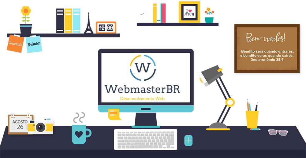 Criação de Site  -WebmasterBR