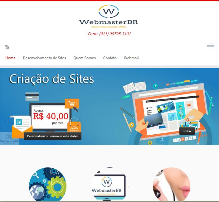 Desenvolvimento WebmasterBR